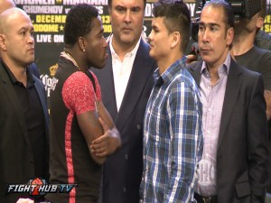 broner maidana face off