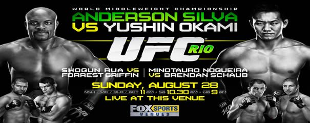 UFC 134: Rio   Results (Live) photo