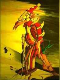 Vogelkoenig Klaun von Peter Hüging