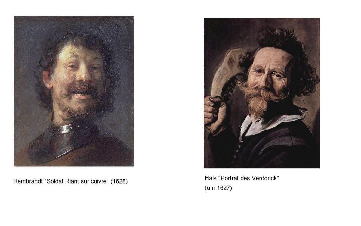 Hals und Rembrandt | eine Gegenüberstellung