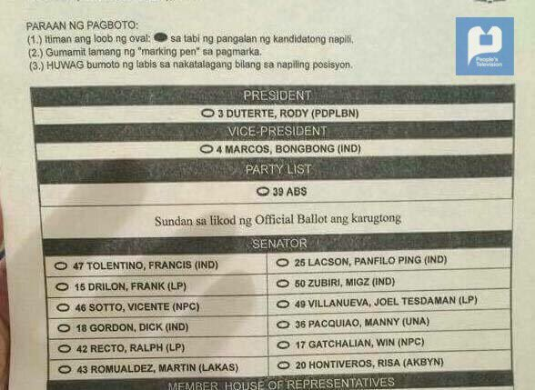 Iglesia ni Cristo to endorse Duterte, Marcos - source