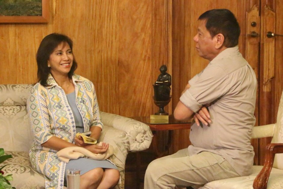 leni robredo and rodrigo duterte