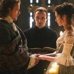 Gorgeous wedding dress alert! Claire's Outlander dress