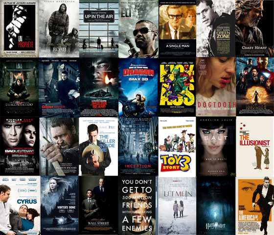 UK Cinema Releases 2010