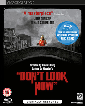 Don't Look Now UK Blu-ray Cover