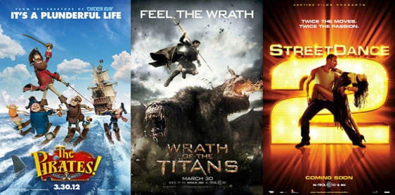 UK Cinema Releases: Friday 30th March 2012