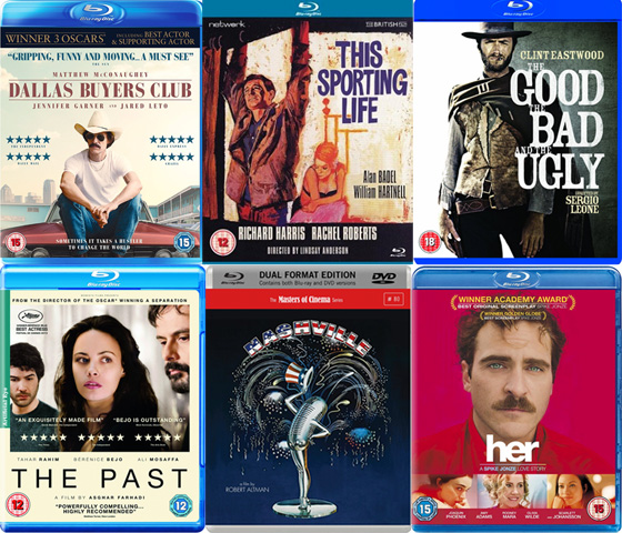 DVD and Blu-ray Picks - June 2014
