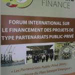Forum sur les PPP : Une alternative pour la mobilisation de financements.
