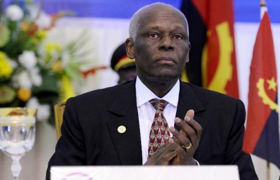 José Eduardo Dos Santos; Président de l'Angola