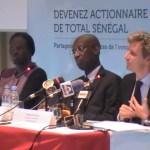 Total Sénégal douche le marché
