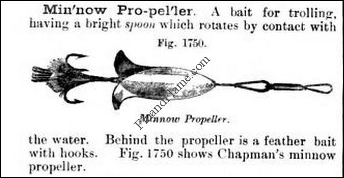 WD Chapman Minnow Propeller Definition