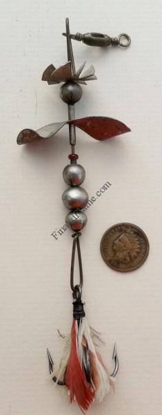 Pflueger Propeller Antique Lure
