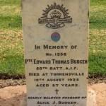 Edward's tombstone