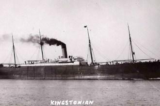 The Kingstonian - the ship Edward sailed on to Gallipoli