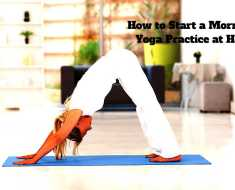 Start Yoga Practice At Home