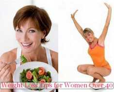 Weight Loss Tips for Women Over 40