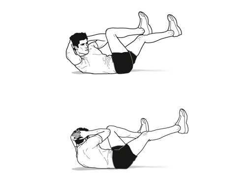 Bicycle Cardio Exercise