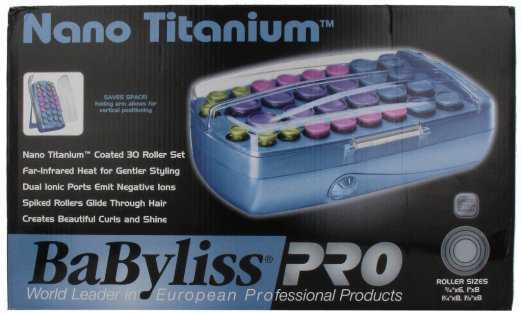 Babyliss Pro BABNTCHV21 Nano Titanium Professional Roller