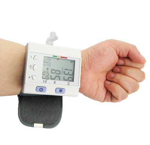 LotFancy FDA Approved Digital Auto Wrist Type Blood Pressure Monitor