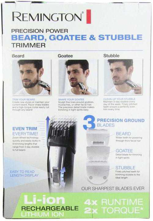 REMINGTON MB4040 LITHIUM ION POWERED MEN'S RECHARGEABLE TRIMMER