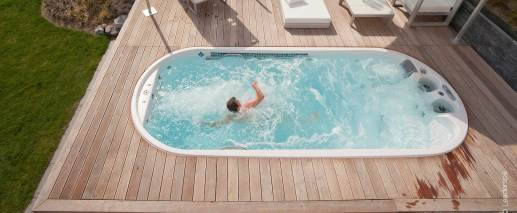 Dimension One AquaFIT PLAY Swim Spa