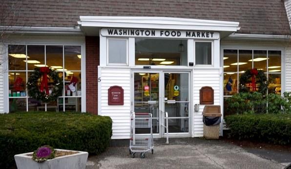 Washington Food Market in the Depot