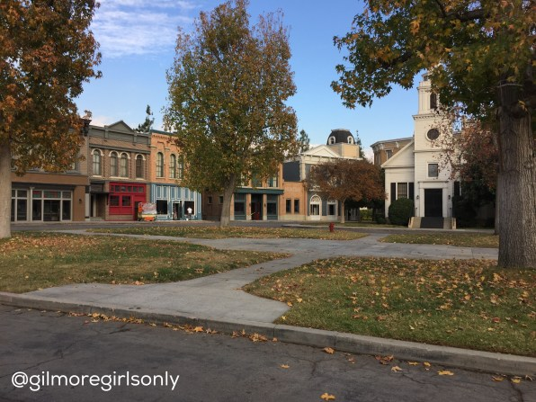 Stars Hollow during Construction without the Gazebo