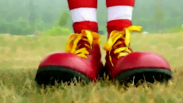Ronald McDonald Red Shoe 5k About Awareness for Charity