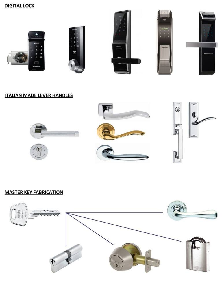 The Fine Lock Shop Product - Quality Door Lock