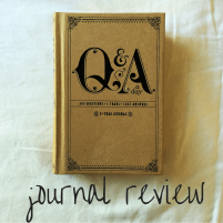 fine print journaling: q&a journal review