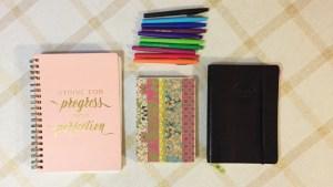fine print journaling: fitness journal