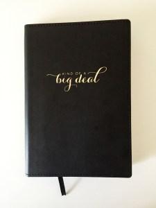 fine print journaling: work journal