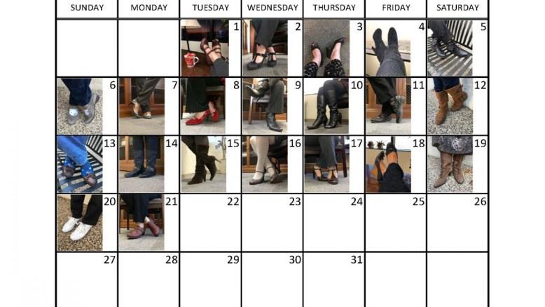31 Day Footwear Challenge: Days 15 thru 21