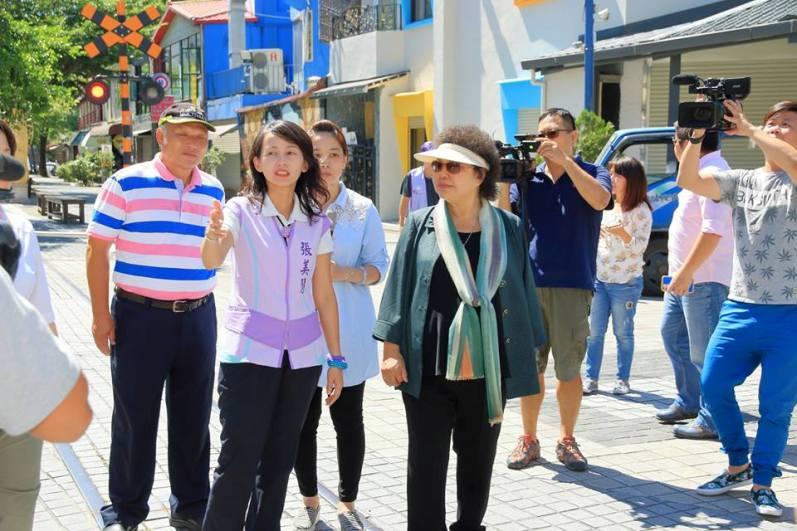 張美慧承諾花蓮市成為「美麗、健康城市」陳菊讚聲!