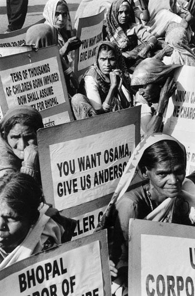 Bhopal Gas Tragedy Demonstration