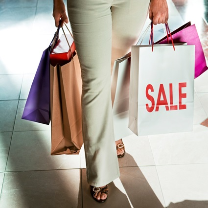 Shopping in Sale