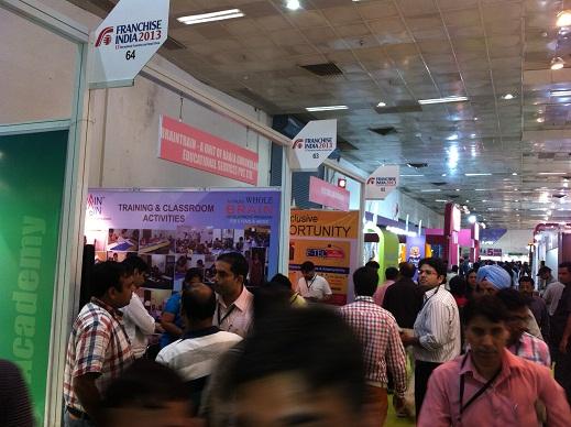 Franchise India 2013 Education Exhibits