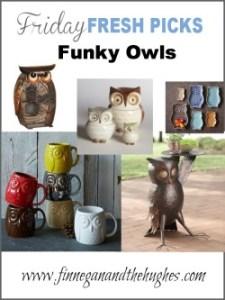 Friday's Fresh Picks: Funky Owls