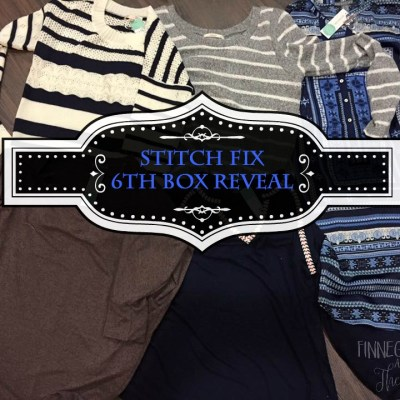 Stitch Fix 6th Box Reveal