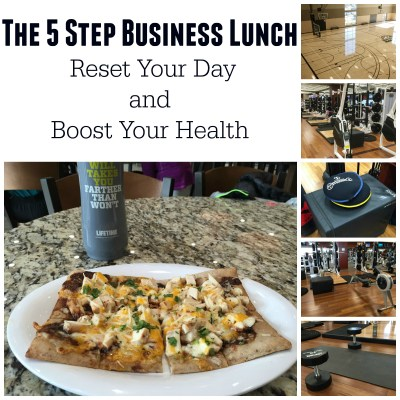 The 5 Step Business Lunch   Reset Your Day  and  Boost Your Health