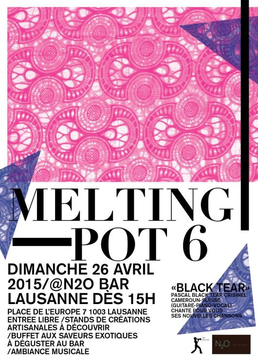 Melting Pot 6 n2o restaurant Lausanne flow April 26