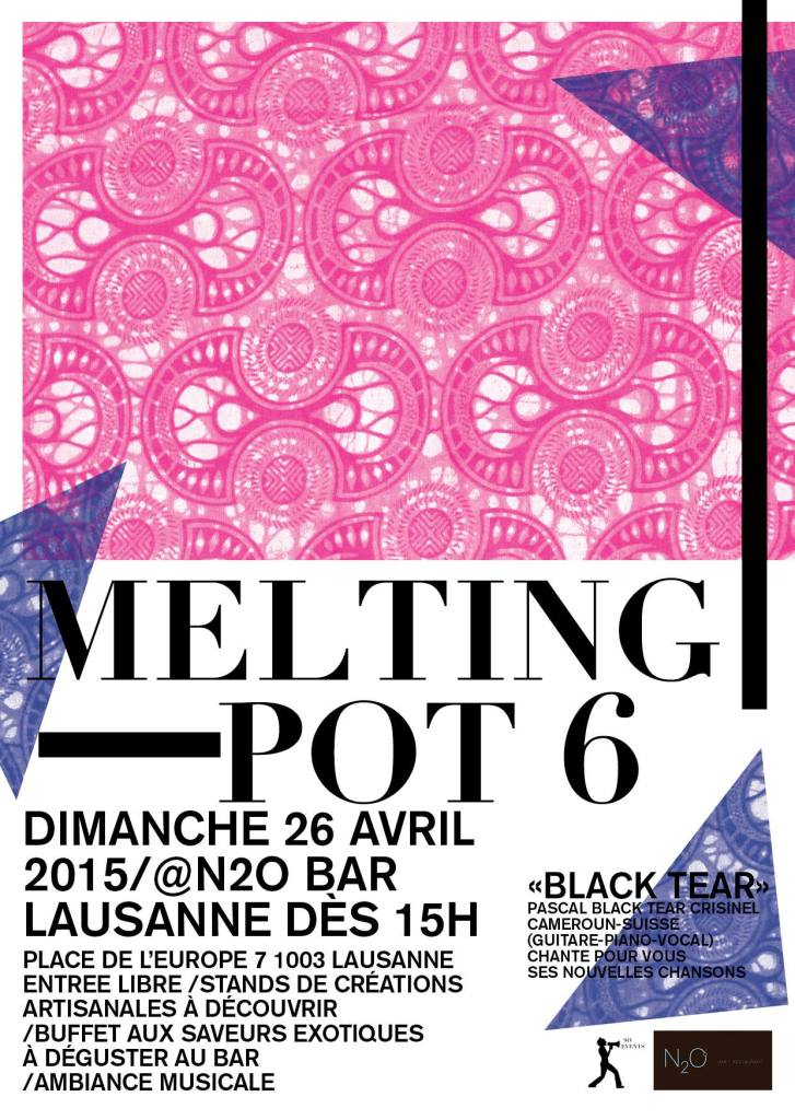 Melting Pot 6 n2o restaurant Lausanne flow April 26