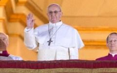 Papa Francesco I a Firenze nel 2015