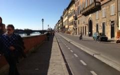Lungarno Corsini nel caos
