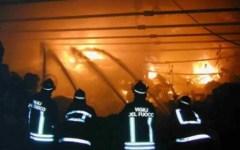 Incendio distrugge ristorante a Pontremoli