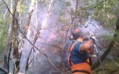 Incendi: rogo a Cavriglia, evacuata abitazione