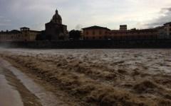 Maltempo, circolazione ko a Firenze. Danni a Volterra e nel Senese