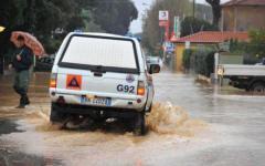 Maltempo in Toscana: frana nel Pisano, famiglie evacuate