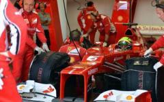 Massa in pista al Mugello, ultimo saluto ai tifosi Ferrari