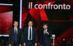 Cuperlo-Renzi-Civati, sfida in tv senza vincitori